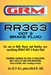 GRM RR363 Heavy Duty Brake Fluid - 1 liter bottle - Case of 10 - RR363CS